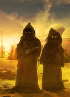 Sunset On Tatooine by Aste17