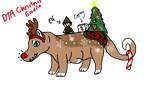 DTA Ecodile || Rudolph Loves Christmas by AusieOtterPie