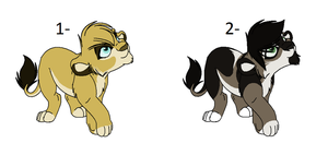Lions adoptable 7 (Closed) by The-Silent-Queen