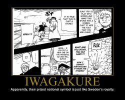 Motivation - Iwagakure by Songue