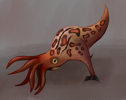 Bullsquid by GlassesCat