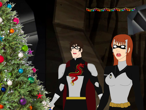 DTSS: Christmas in Mt. Justice by whitefire33