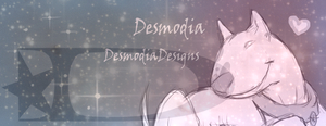 my new facebook page banner by DesmodiaDesigns