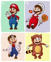 Mario's Suits by M-U-S-I-K