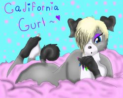 proud California girl by experimentnumber12