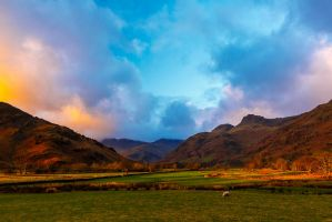 Langdale Pikes by newcastlemale