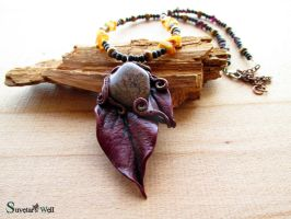 Autumn Fairy necklace by SuvetarsWell