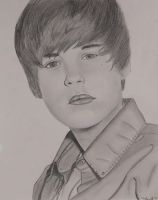 Justin Bieber by Thessa-drawings