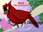GA-Kelsey-Red Cardinal by Perry-the-Platypus