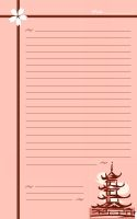 Sakura Stationery by Stars-of-the-Water
