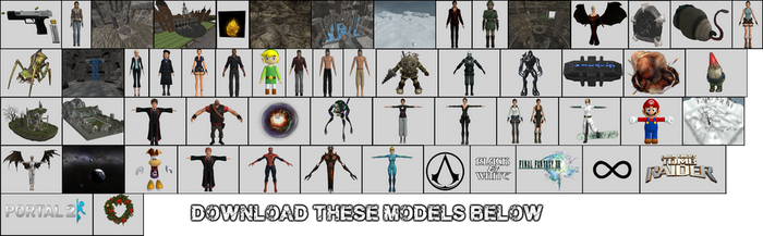 All My Old Models!!!! by carbint