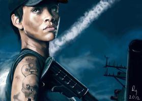 Battleship-Rihanna by danb13