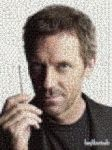 HouseMD Photomosaic by haydenchristensenfan