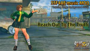 SSF4AE - Training stage Persona4 BGM MOD by dsFOREST