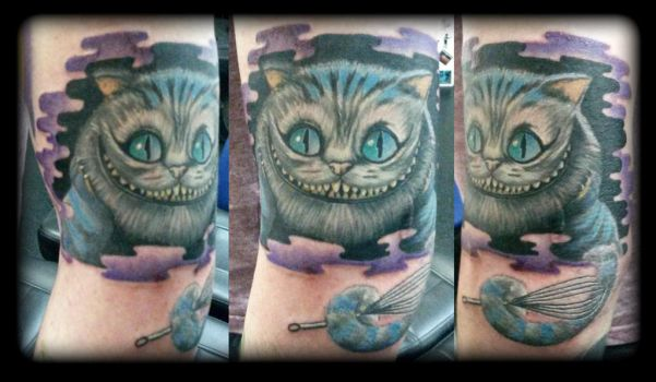 Cheshire by state-of-art-tattoo