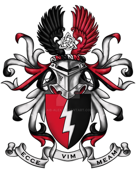 The Tempest Coat of Arms by Aib-Alex