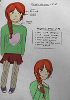chrysanthemum colored profile by taylin13