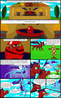 The Legend of Flaze - The Crimson Star_pg 1 by Crimson-Flazey
