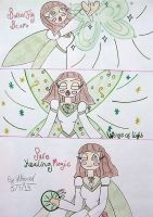 Heavenly Justina's Powers by HealerCharm
