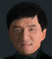 jackie chan by cliffbuck