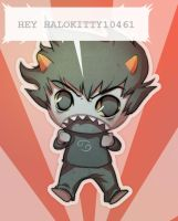 Karkat for halokitty10461 by Shattered-Earth