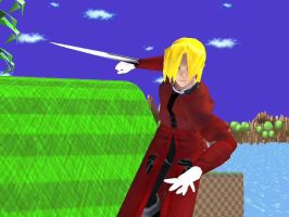 SSBB Texture Hack- Ed Elric by NarutoDude96