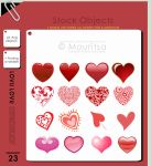 Object Pack - Lovu Lovu by MouritsaDA-Stock