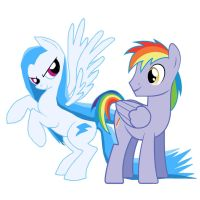 Blue Thunder and White Lightning by fonypan