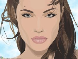 Angelina Jolie by Thiago-NightCrawler