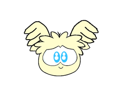 Puffle Flutter Shy by Puffypaw