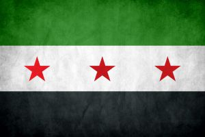 syria flag by waheed6808