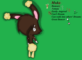 Muko the Buneary by SoulTheZorua