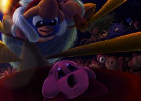 DEDEDE Challenge to fight by Evanatt