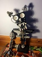 Five nights at Freddy's lego endo skeleton wip by Ian-exe