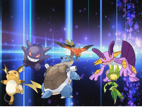 my pokemon team by sonicsackboy