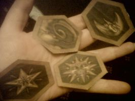 Resident Evil 1 Crests by Shakahnna