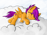 Sleeping on clouds. by MinosUa