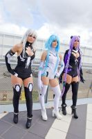 Hyperdimension neptunia cosplay by StratosRvS