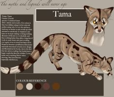 tama new ref by true-crystalwolf
