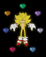 Super Sonic In Space by TheXiled