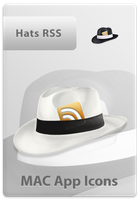 Hat RSS Icon by LoafNinja