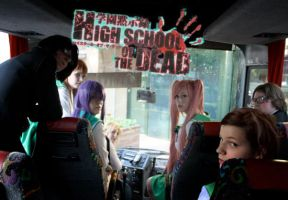 highschool of the dead by saskiabrug