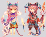 [CLOSED]Auction Adopt 10 The Dancer and Warrior by SarahWidiyanti