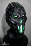 The Grave Ender v2. Cyberpunk helmet by TwoHornsUnited
