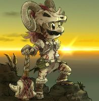 Barbarian Armor by Angle-007