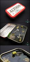 FOR SALE - Large Altoids Tin Koi Pond by Bon-AppetEats