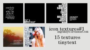 icon textures set1 by angelmayte