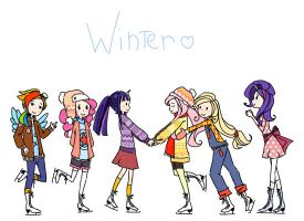 hey, winter by InvincibleChimiPie