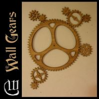 Bamboo Wall Gears by IMVU-Whystler