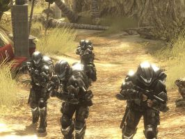 ODST Squad by Cipher-Raid